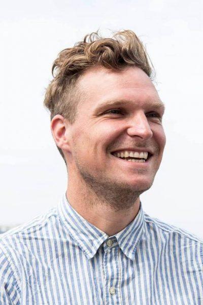 A 7BP ambassador, Jesse Job Jorg.