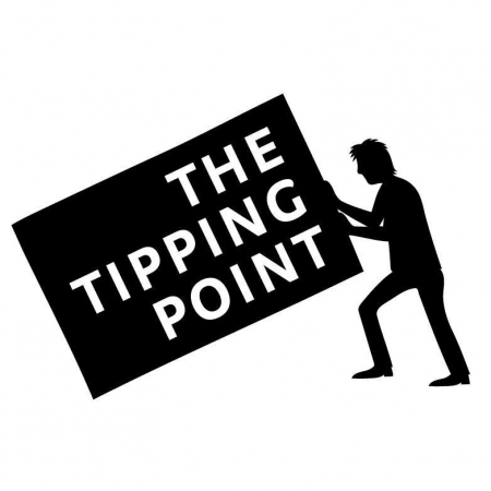 """A logo of """"The Tipping Point Foundation""""."""