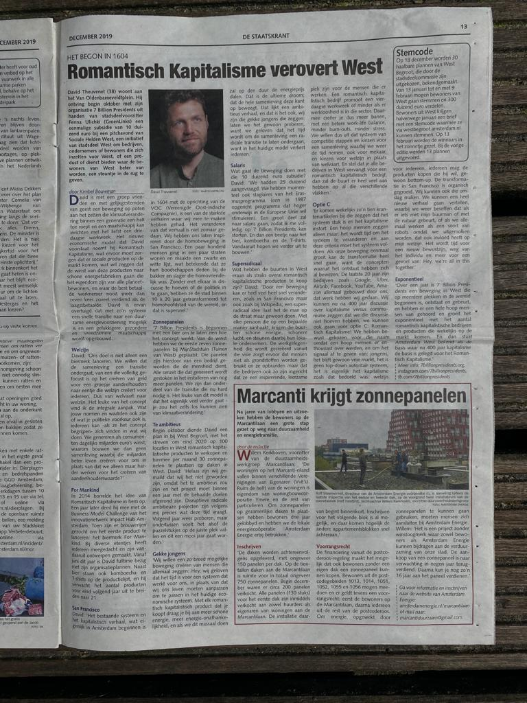 A picture of an newspaper article.