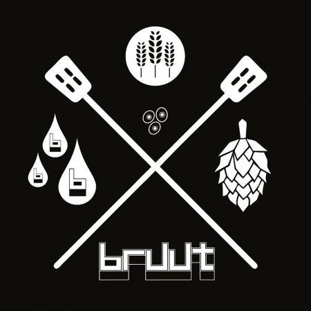 Logo of Bruut Bier.